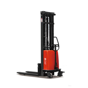 SEM10/SEM15/SEM20 1T 1.5T 2T SEMI-ELECTRIC PALLET STACKER MAX. LIFT HEIGHT 4.5M