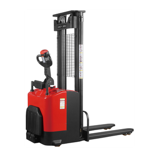 ELES-20P STAND ON TYPE 2T ELECTRIC STACKER WITH EPS SYSTEM USA CURTIS CONTROLLER